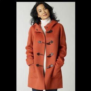 J. Jill Hooded Toggle Coat Winter Jacket XS